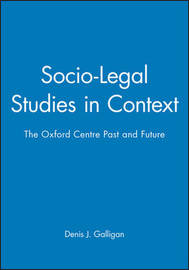 Socio-Legal Studies in Context image