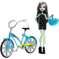 Monster High: Boltin' Bicycle - Frankie Stein Doll
