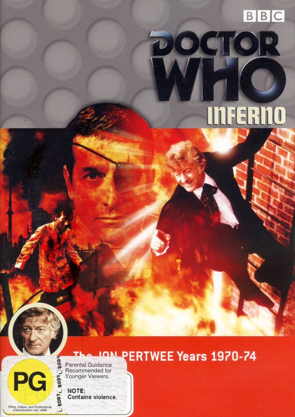 Doctor Who: Inferno on DVD image