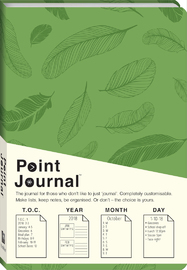 Art Maker: Point Journals - Green