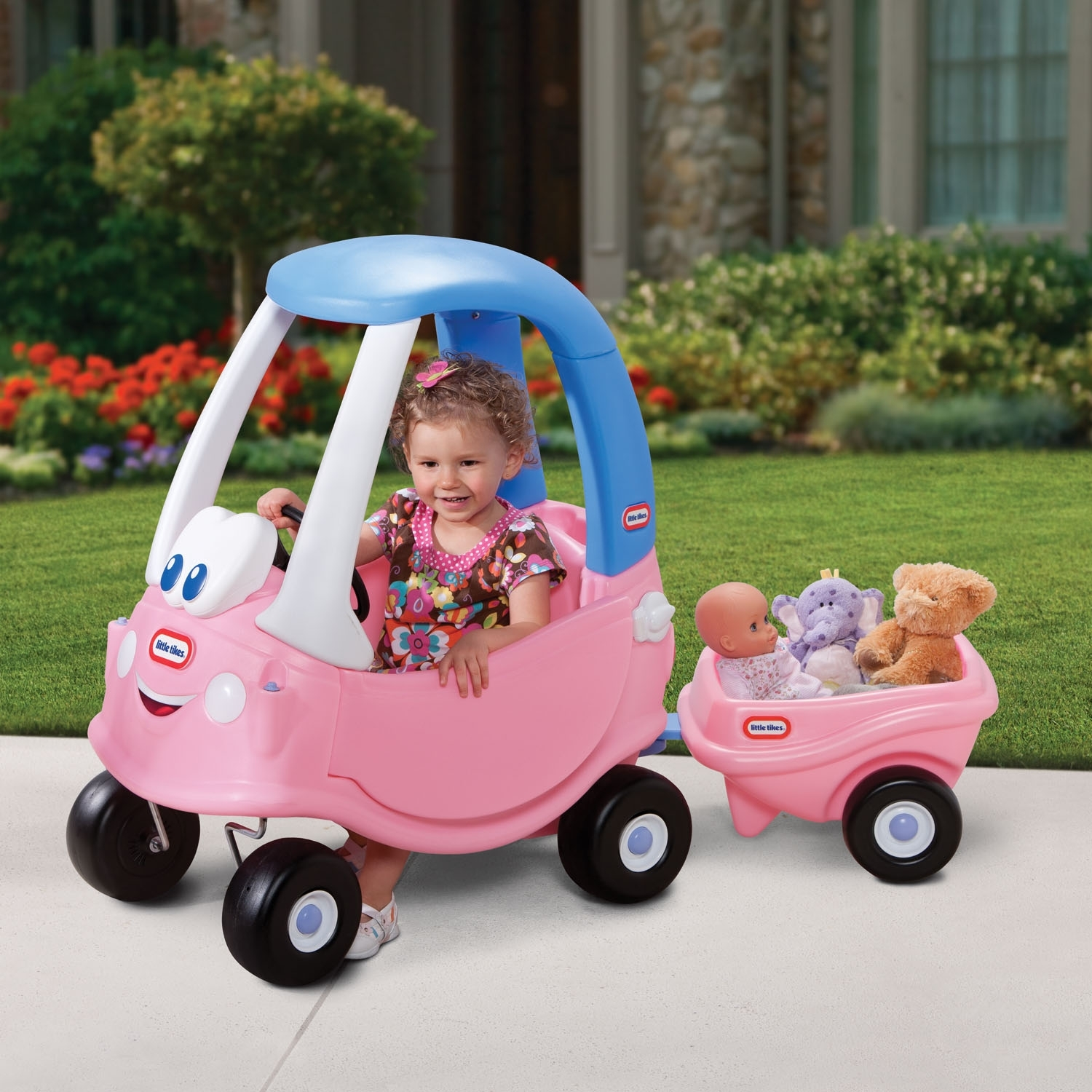 Cozy Coupe Trailer Princess Toy At Mighty Ape Australia