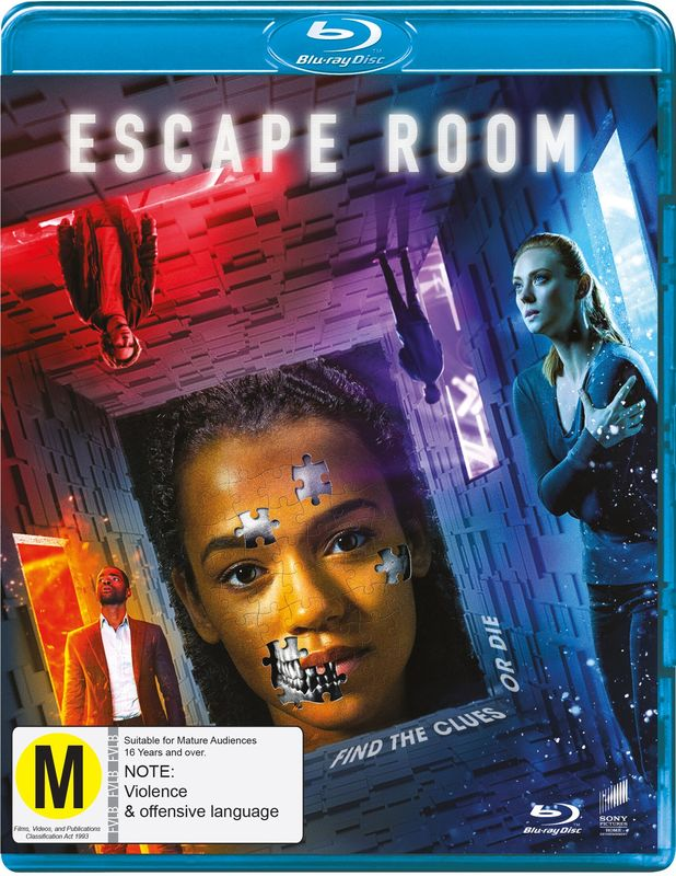 Escape Room (2018) on Blu-ray