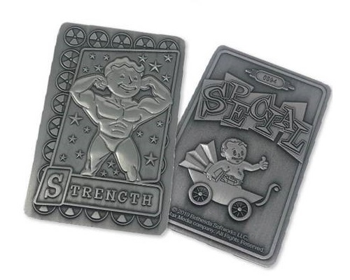 Fallout: Replica Perk Card - Strength image