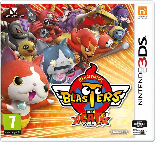 Yo-Kai Watch Blasters Red Cat Corps for 3DS