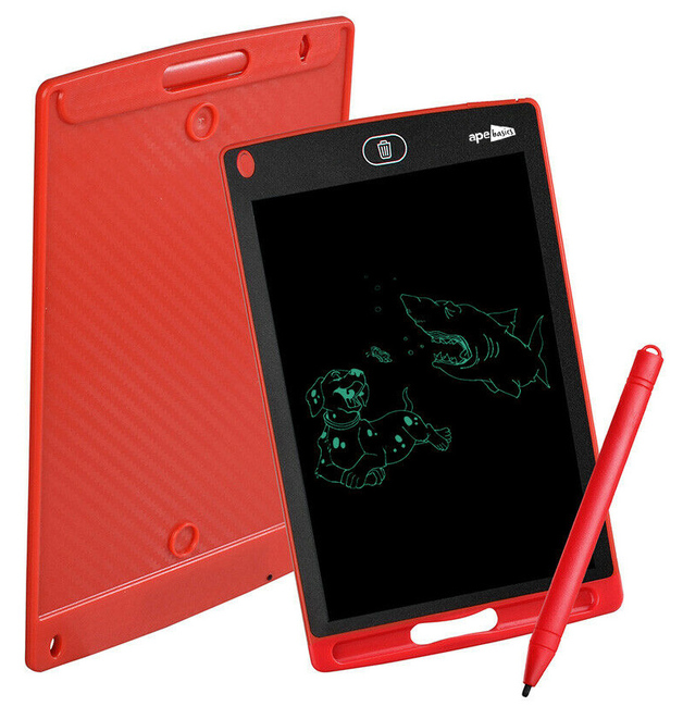 Ape Basics LED Kids Writing Education Tablet Red