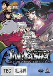 Inuyasha Movie 2 - The Castle Beyond the Looking Glass on DVD