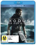 Exodus: Gods & Kings on Blu-ray