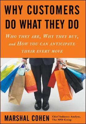 Why Customers Do What They Do by Marshal Cohen image