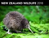 New Zealand Wildlife 2018 Horizontal Wall Calendar