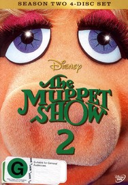 The Muppet Show - Season 2 on DVD image
