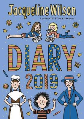 The Jacqueline Wilson Diary 2019 by Jacqueline Wilson image