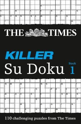 The Times Killer Su Doku Book 1 by The Times Mind Games