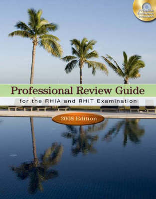 Professional Review Guide for the Rhia and Rhit Examinations: 2008 by Patricia Schnering image
