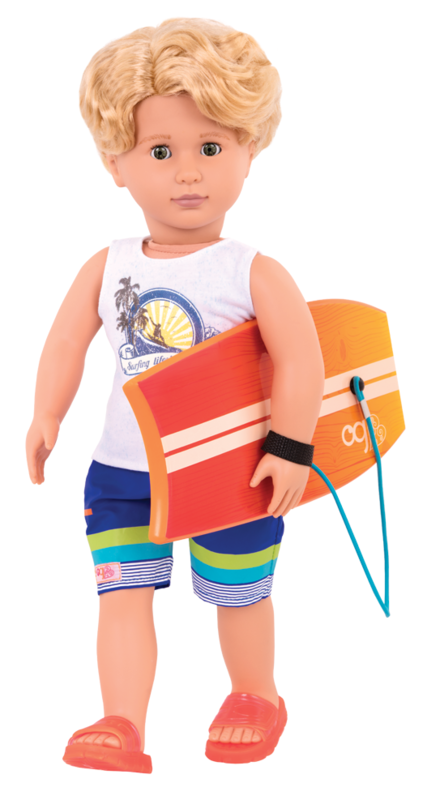 "Our Generation: 18"" Regular Doll - Surfer Gabe"