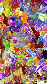 Viva Pinata: Premium Art Print - Collage (Limited Edition)