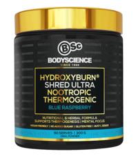 BSc Bodyscience HydroxyBurn SHRED Ultra – Blue Raspberry