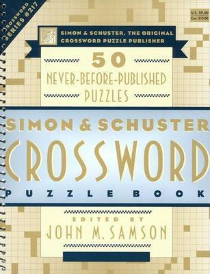 Simon & Schuster Crossword Puz by SAMSON
