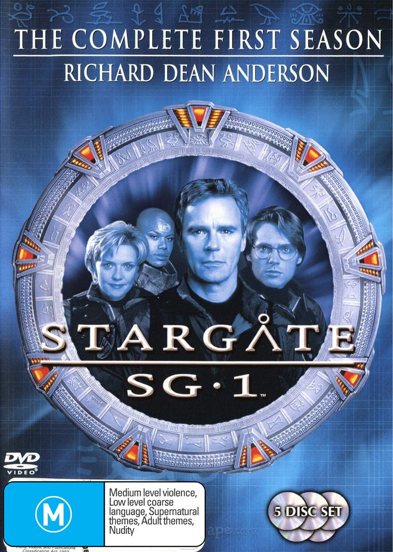 Stargate SG-1 - Season 1 (5 Disc Set) (New Packaging) on DVD image