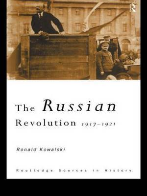 The Russian Revolution by Ronald I. Kowalski image