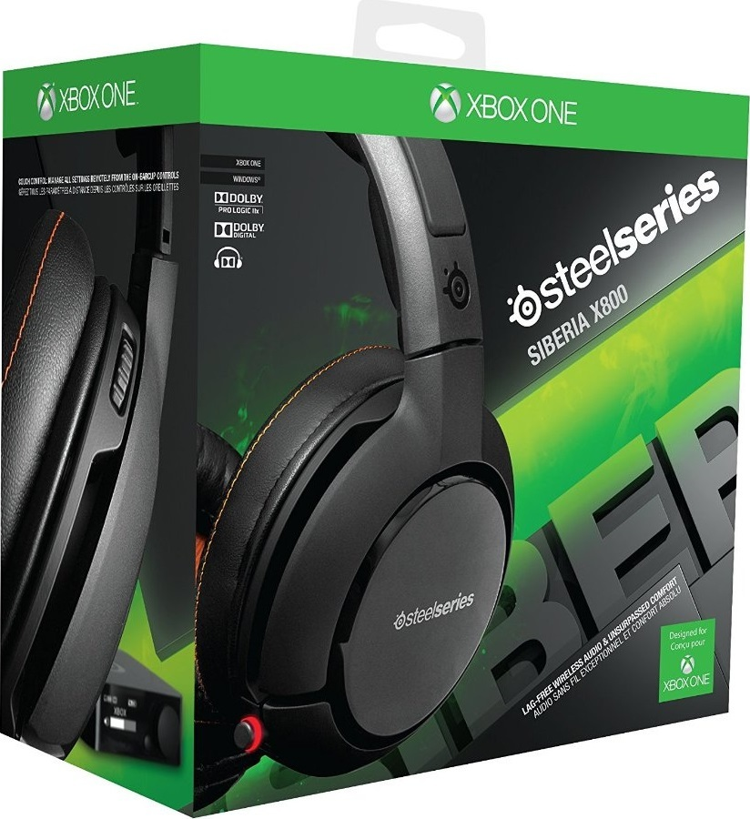 SteelSeries Siberia X800 Wireless Universal Headset for Xbox One image