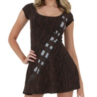 Star Wars Chewbacca Skater Dress (Large)