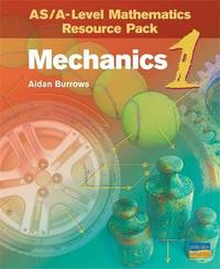 ASA-Level Mathematics Resource Pack: Mechanics 1 (Plus CD) by Aidan Burrows image