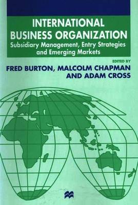 International Business Organization by Malcolm Chapman