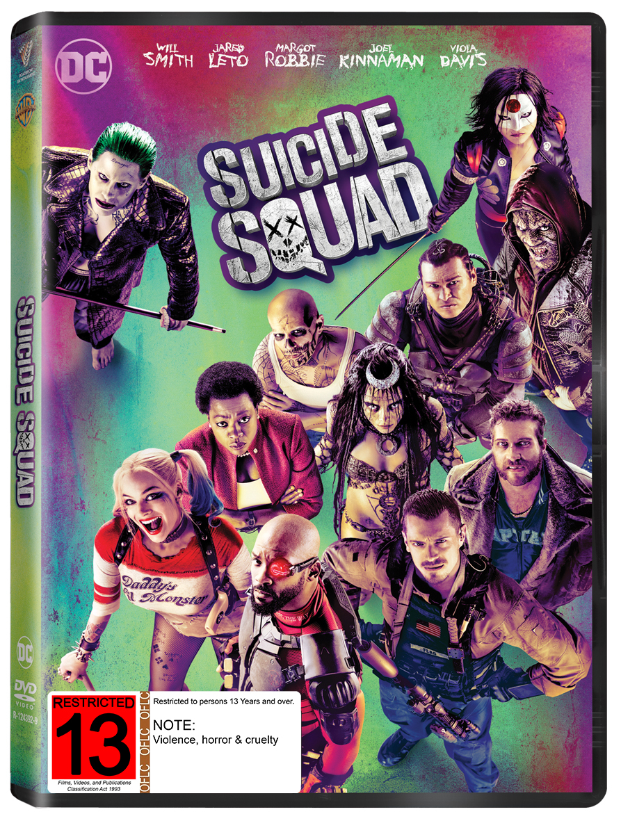 Suicide Squad on DVD image