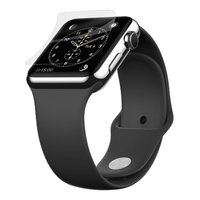 Belkin ScreenForce InvisiGlass Advanced Flexible Glass Screen Protector for Apple Watch (42mm)