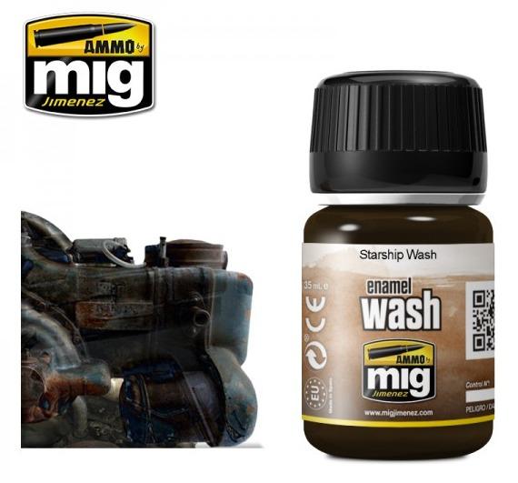Ammo of Mig Jimenez: Enamel Wash - Starship Wash (35ml)