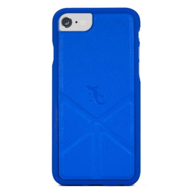 Gecko Origami Case for iPhone 7/6/6s - Nautical Blue