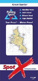 Spot X Great Barrier Chart: Fishing Spots by X Spot