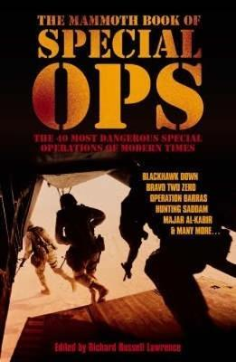The Mammoth Book of Special Ops by Richard Russell Lawrence image