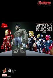 Marvel: Avengers (Series 2) - Artist Mix Deluxe Set