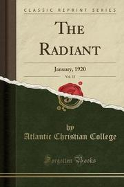 The Radiant, Vol. 12 by Atlantic Christian College image