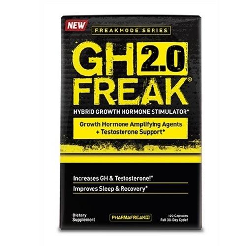 Pharma Freak GH 2.0 Freak- 120 Capsules image