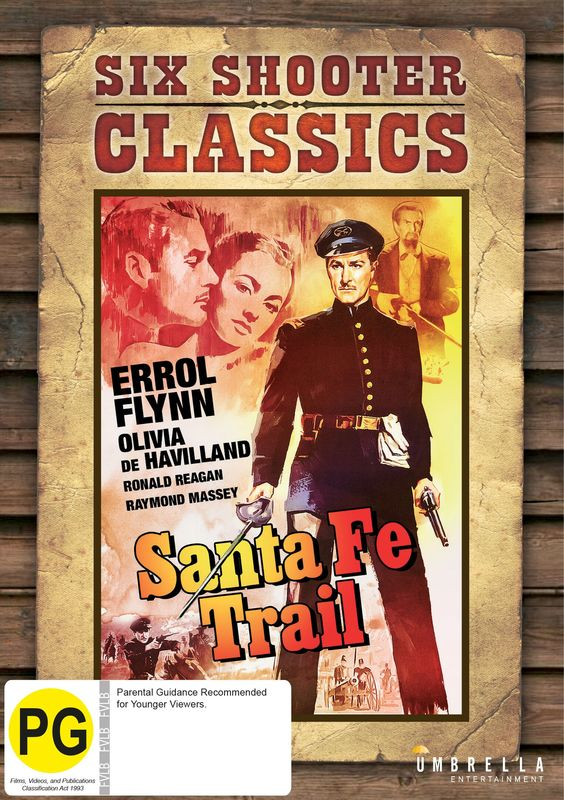Santa Fe Trail (Six Shooter Classics) on DVD