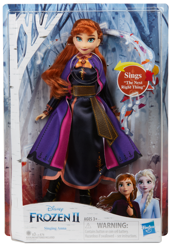 Frozen II: Singing Anna - Fashion Doll