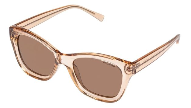 The Cancer Council Sunglasses: Belair - Clear Brown + Brown Lens
