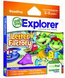 LeapPad Explorer Games - Letter Factory