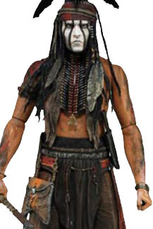 The Lone Ranger Tonto 1/4 Scale Action Figure image