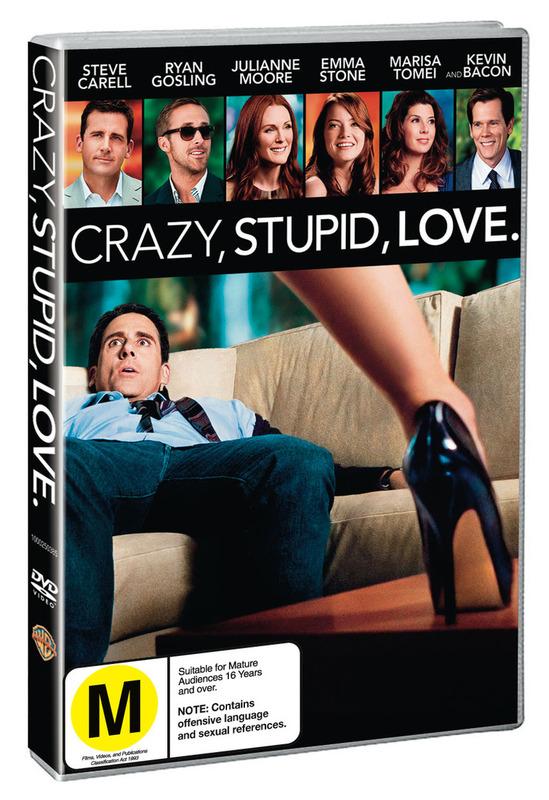 Crazy, Stupid, Love on DVD