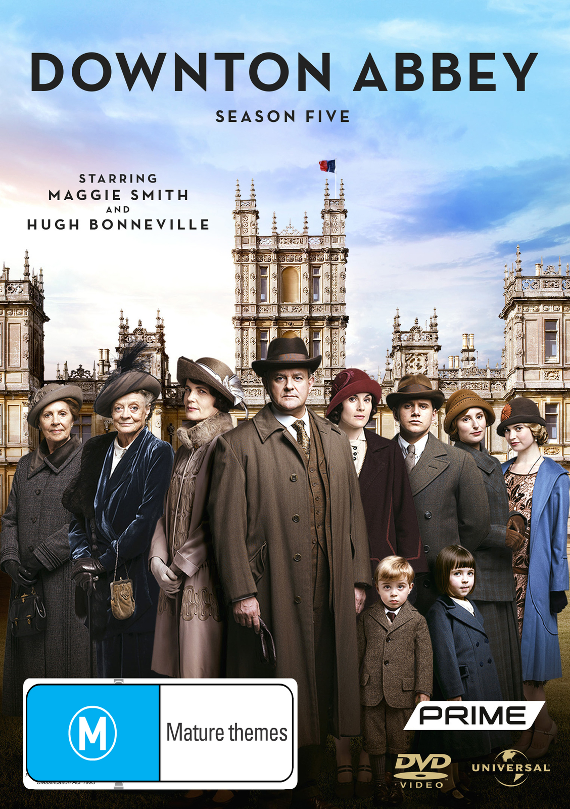 Downton Abbey - Season 5 on DVD image