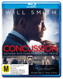 Concussion on Blu-ray, UV