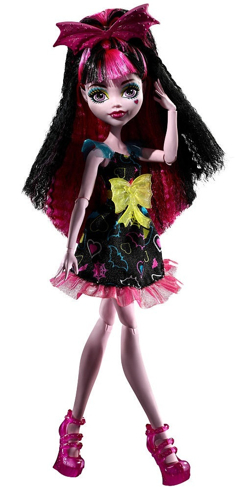 Monster High Electrified Draculaura Doll Toy At Mighty Ape Nz