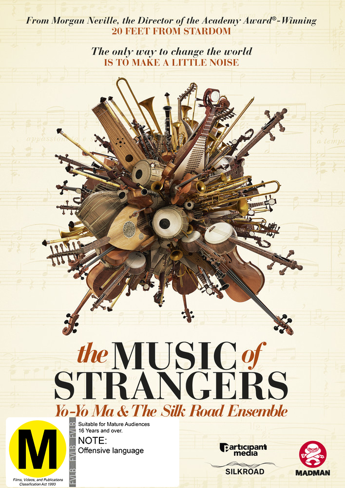 The Music Of Strangers: Yo-yo Ma And The Silk Road Ensemble on DVD image