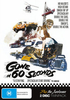 Gone In 60 Seconds (1974) on DVD image
