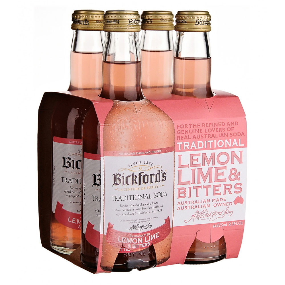 Bickfords Traditional Soda - Lemon Lime & Bitters (275ml) image
