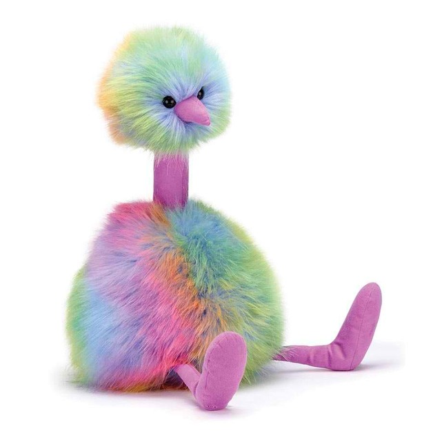 Jellycat: Rainbow Pompom (Medium)