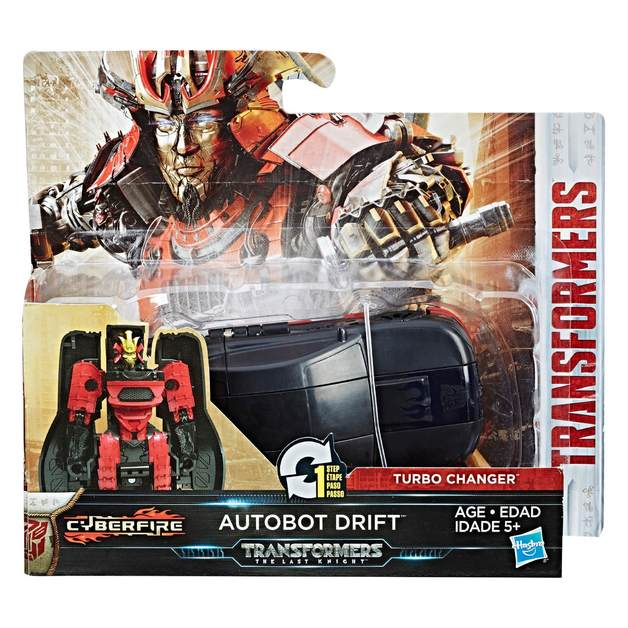 Transformers: The Last Knight: 1-Step Turbo Changer (Autobot Drift)